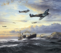 RETURN OF THE FEW GICLÉE CANVAS PROOF