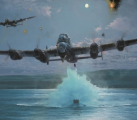 DAMBUSTERS   - THE IMPOSSIBLE MISSION  GICLÉE CANVAS PROOF