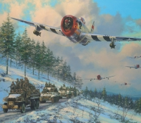 THUNDER IN THE ARDENNES GICLÉE CANVAS PROOF