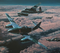 NIGHT HUNTERS  <em>Night Skies over the Reich Portfolio</em>