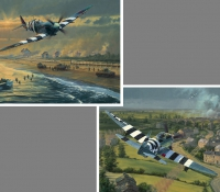 THE D-DAY 65th ANNIVERSARY PORTFOLIO  Juno Beach & Bridge Busters