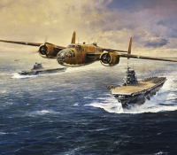 THE DOOLITTLE TOKYO RAIDERS  GICLÉE CANVAS PROOF
