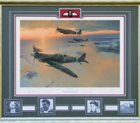 MIDWINTER DAWN <br>Framed Collectors Piece