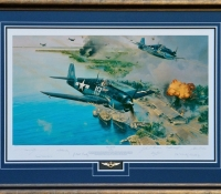 HELLCAT FURY<br> Framed Collectors Piece