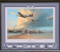 TOWARDS THE HOME FIRES <br> Framed Collectors Piece