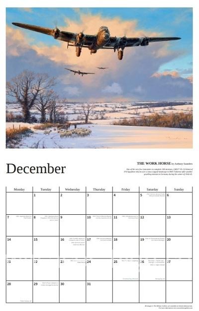 The Battle for Normandy 2020 Calendar