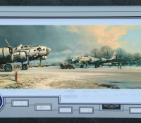 CLEARING SKIES <br>Framed Collectors Piece