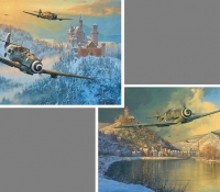 EAGLES OF THE REICH PORTFOLIO <br> Up Amongst Eagles & Where Storm Clouds Gather
