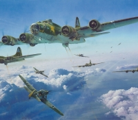 SCHWEINFURT - THE SECOND MISSION <br> GICLÉE CANVAS PROOF