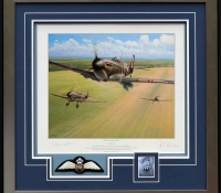 SPITFIRE SCRAMBLE <br> Framed Collectors Piece