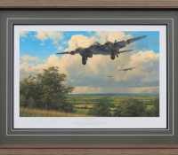 THE VALIANT RETURN <br> Framed Collectors Piece