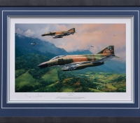 MiG ENCOUNTER <br> Framed Collectors Piece